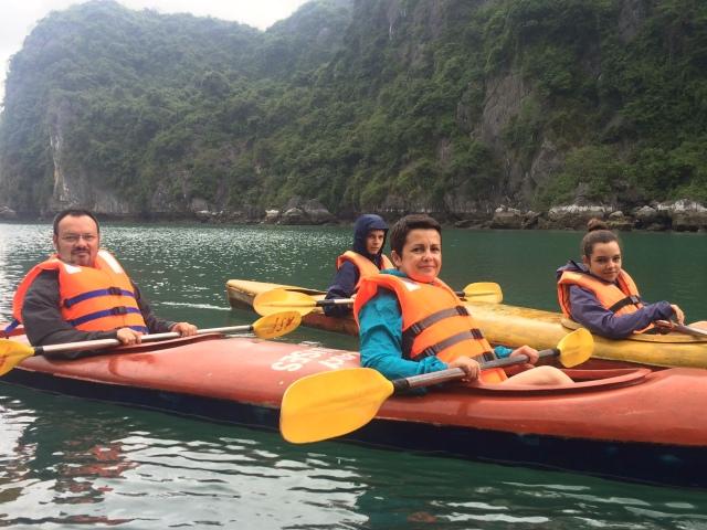 Kayaking dans la Baie