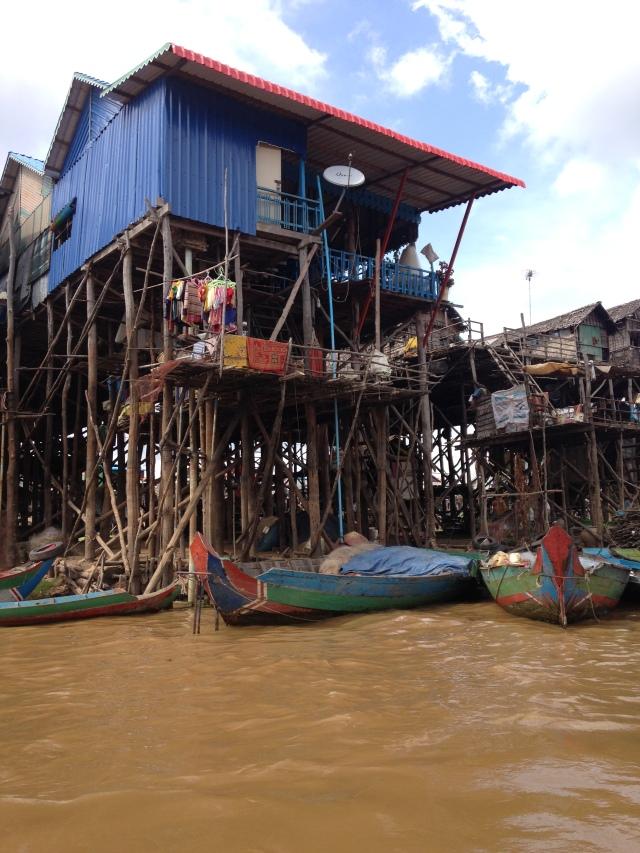 Sur le Tonle Sap