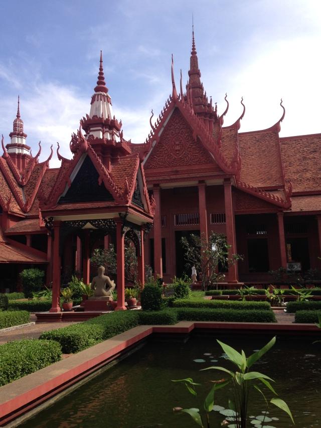 Musée des Beaux-Arts à Phnom Penh