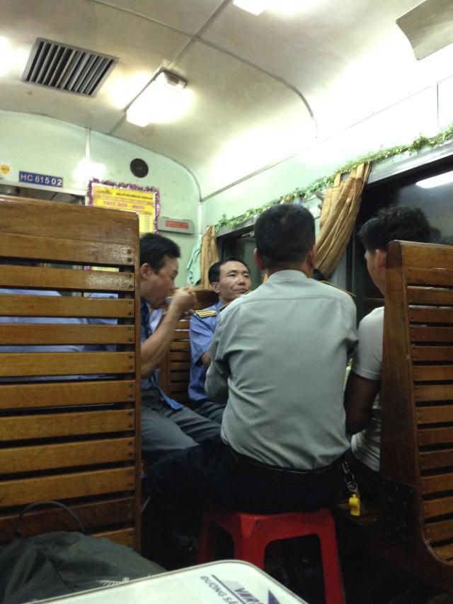 Le train Mui Ne - Hoi An