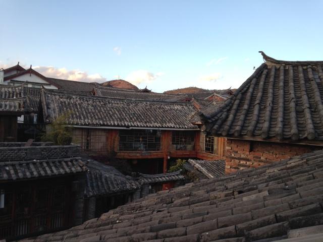 Les toits de Lijiang