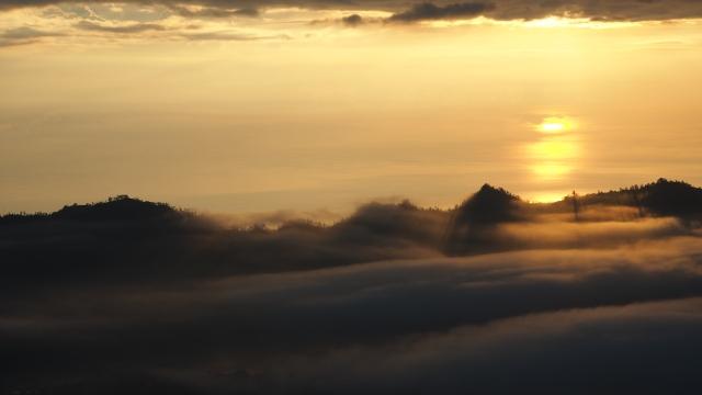 Sur le Batur