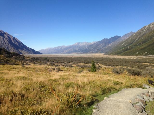 Vers le glacier Tasman